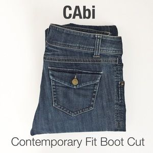 CAbi Contemporary Fit Boot Cut Jeans Size 10